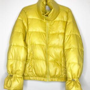 LOFT Puffer Jacket in Yellow